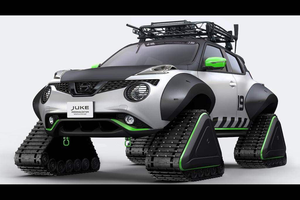 Afbeelding voor Nissan GT-R, Juke en X-Trail conceptcars