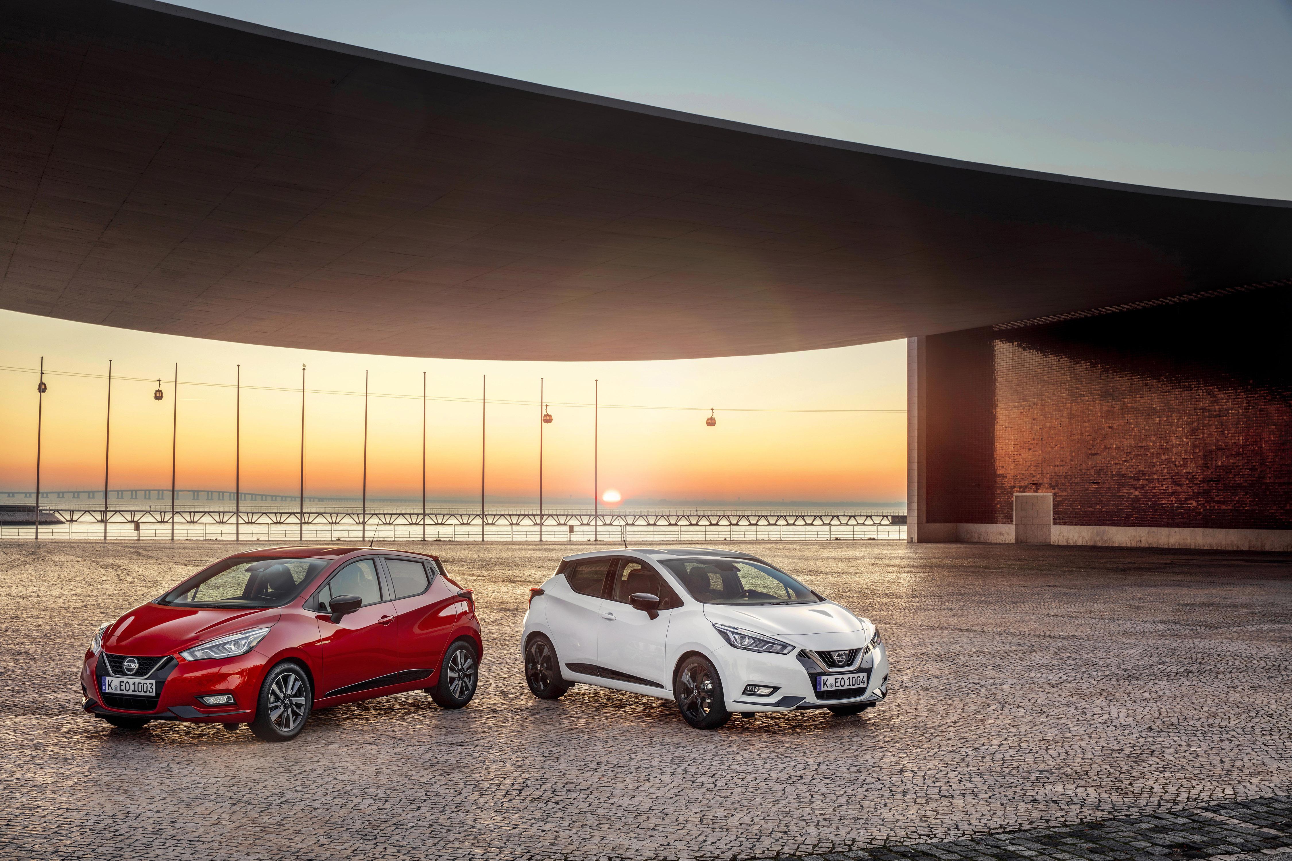 Afbeelding voor Nieuwe benzinemotor en uitvoering voor Nissan Micra