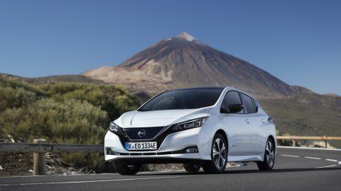 Afbeelding voor Acenta-uitvoering keert terug in assortiment Nissan Leaf