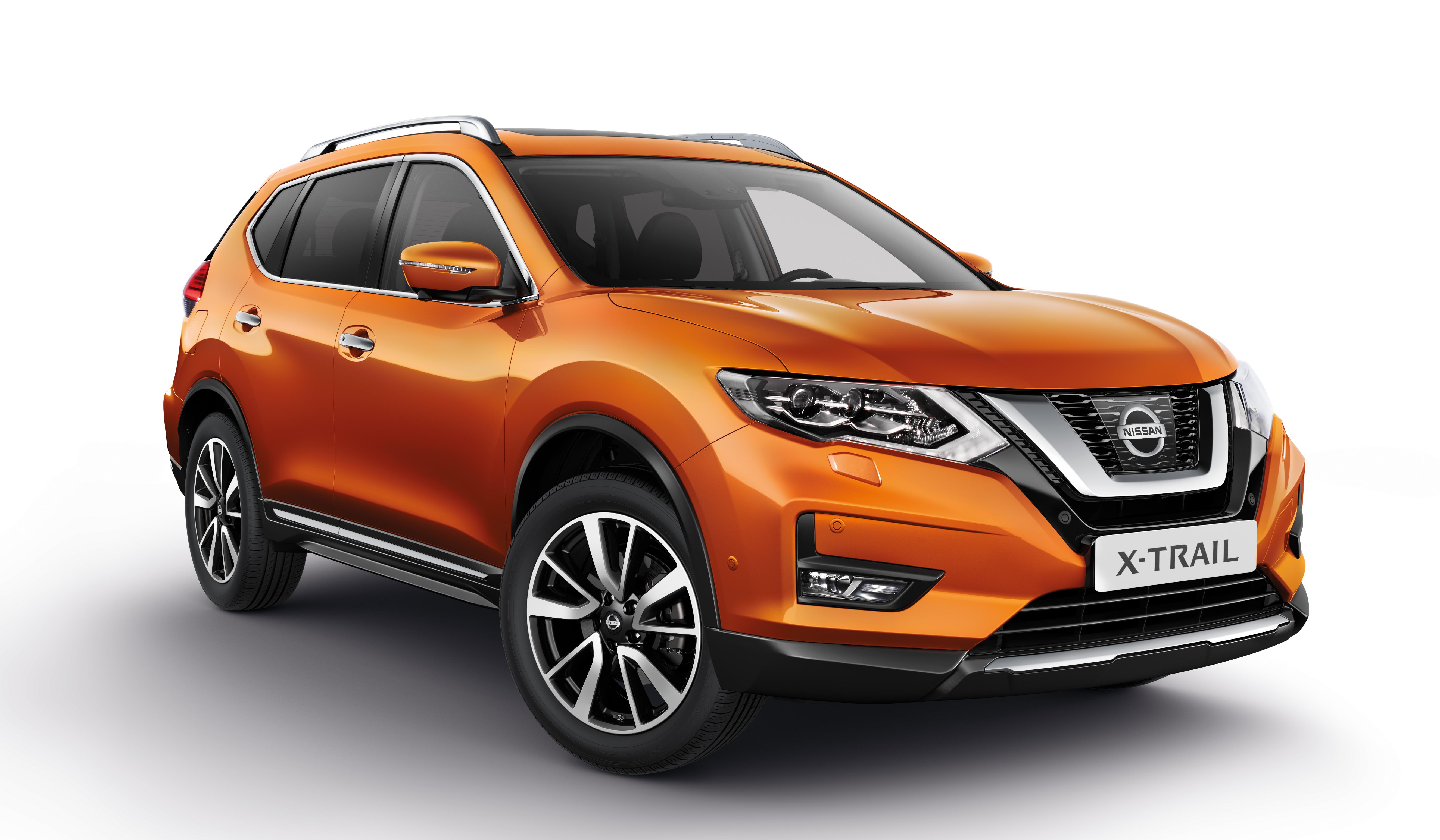 Afbeelding voor Nissan X-Trail met nieuwe motoren te bestellen