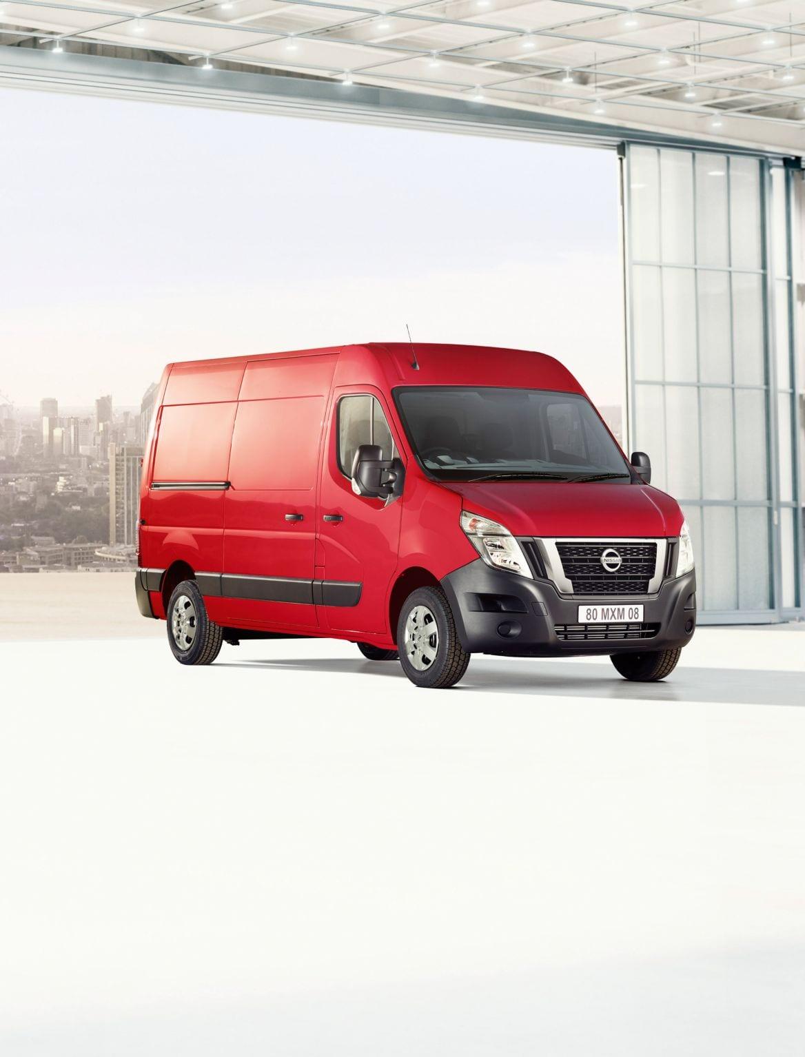 Afbeelding voor Ook Nissan NV400 opgefrist voor 2020, Vernieuwd interieur en schonere motoren voor grootste bestelwagen