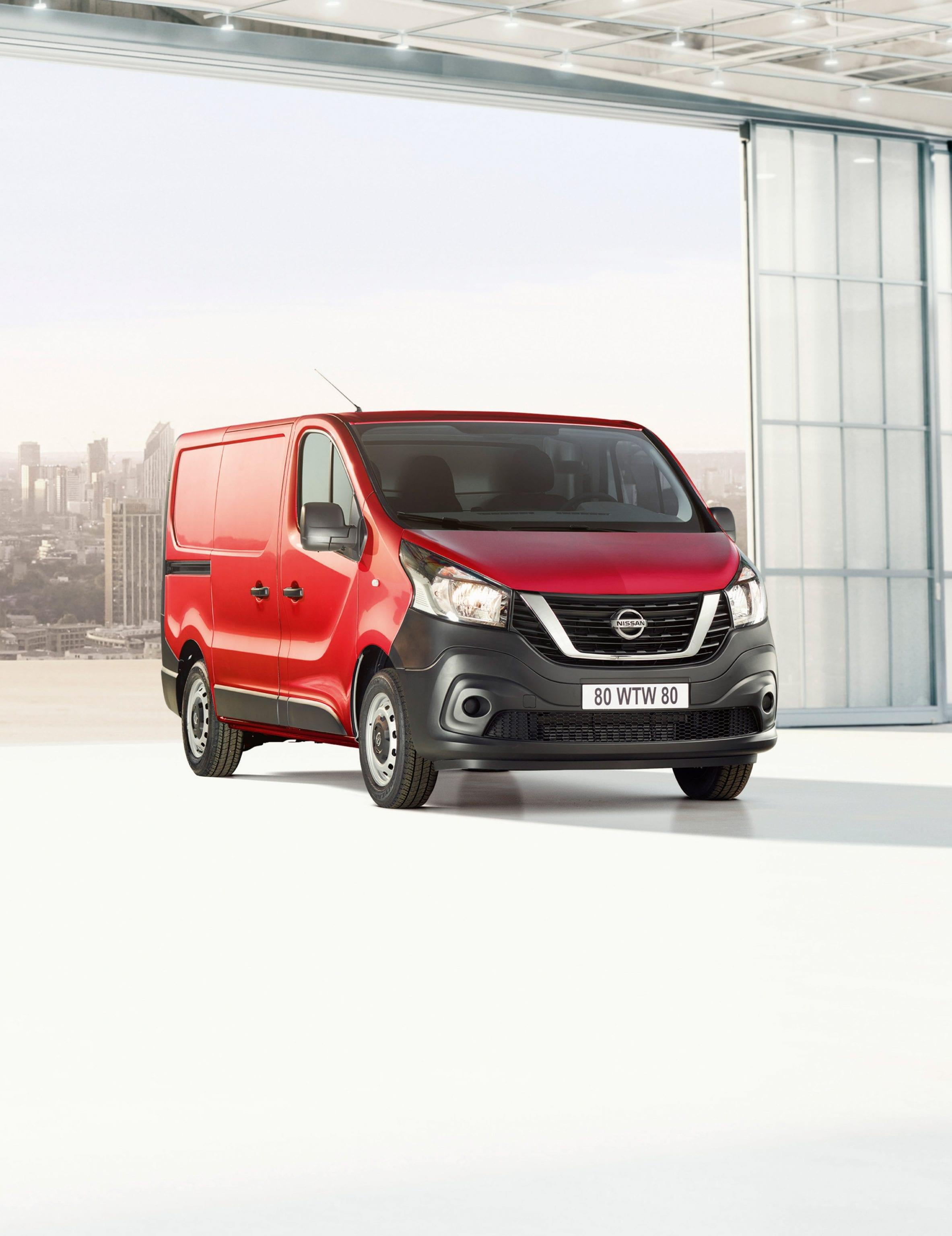 Afbeelding voor Update voor Nissan NV300, Schonere motoren, verbeterd interieur en een nieuwe automaat