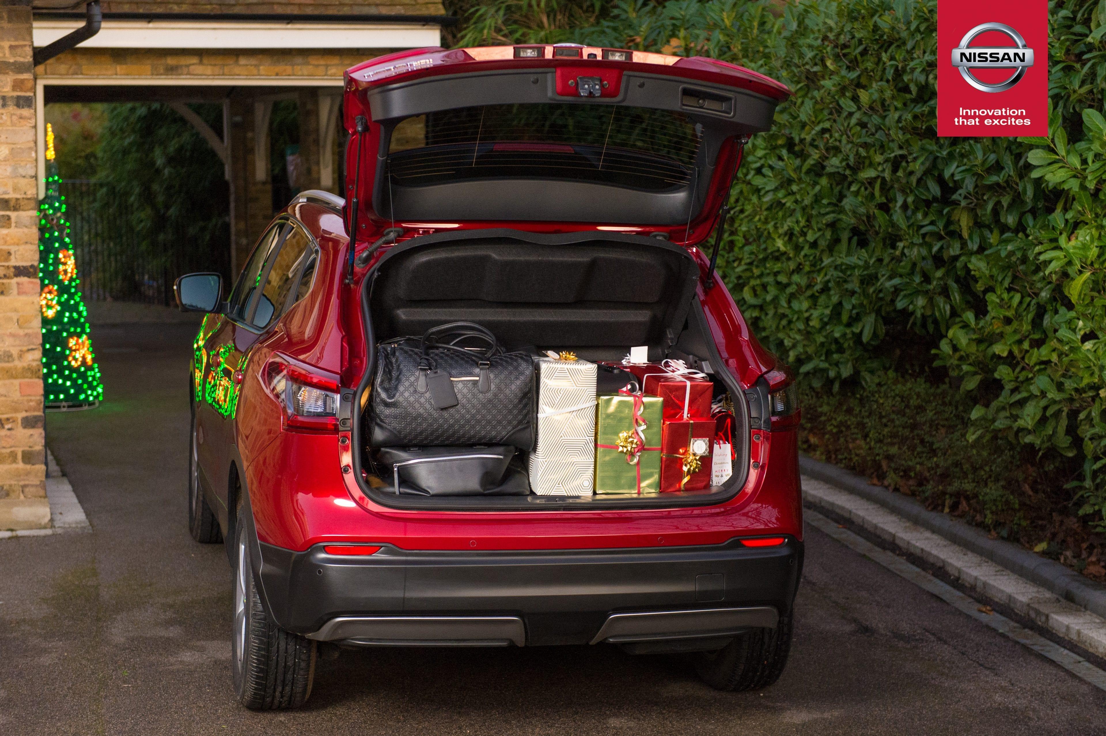 Afbeelding voor Nissan QASHQAI onthult geheim voor stressvrije kerstrit