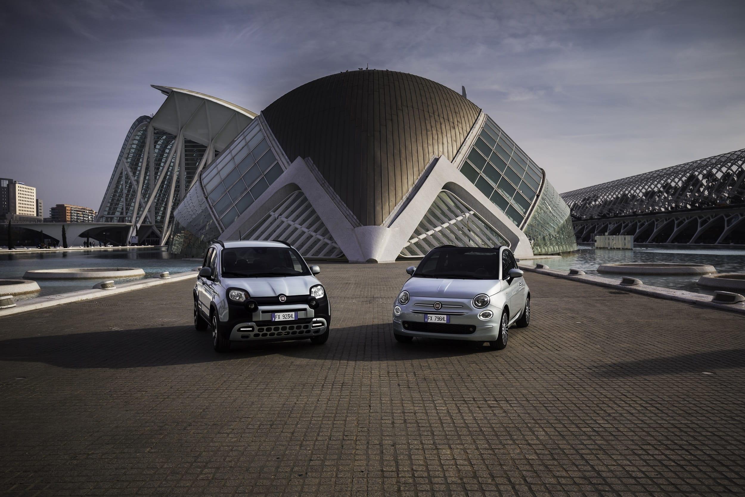Afbeelding voor De Fiat 500 en Fiat Panda gaan Hybride