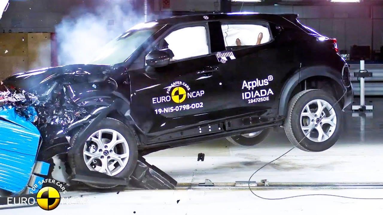 Afbeelding voor Nissan Juke 5 Sterren euro NCAP