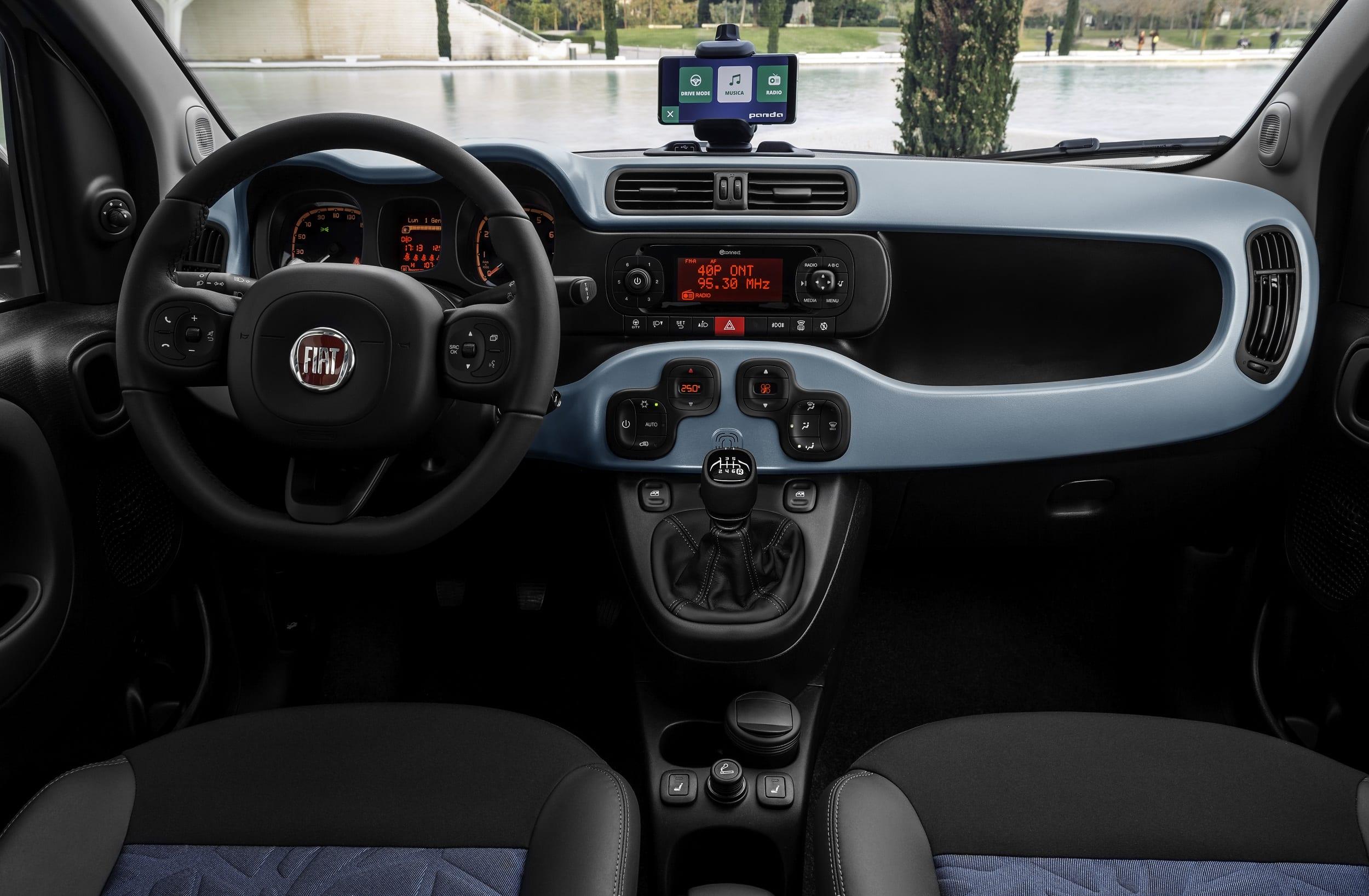 FIAT HYBRID 500 en Panda
