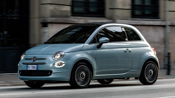 Afbeelding voor Prijzen Fiat 500 bijna 1.000 euro omlaag dankzij nieuwe, hybride motor