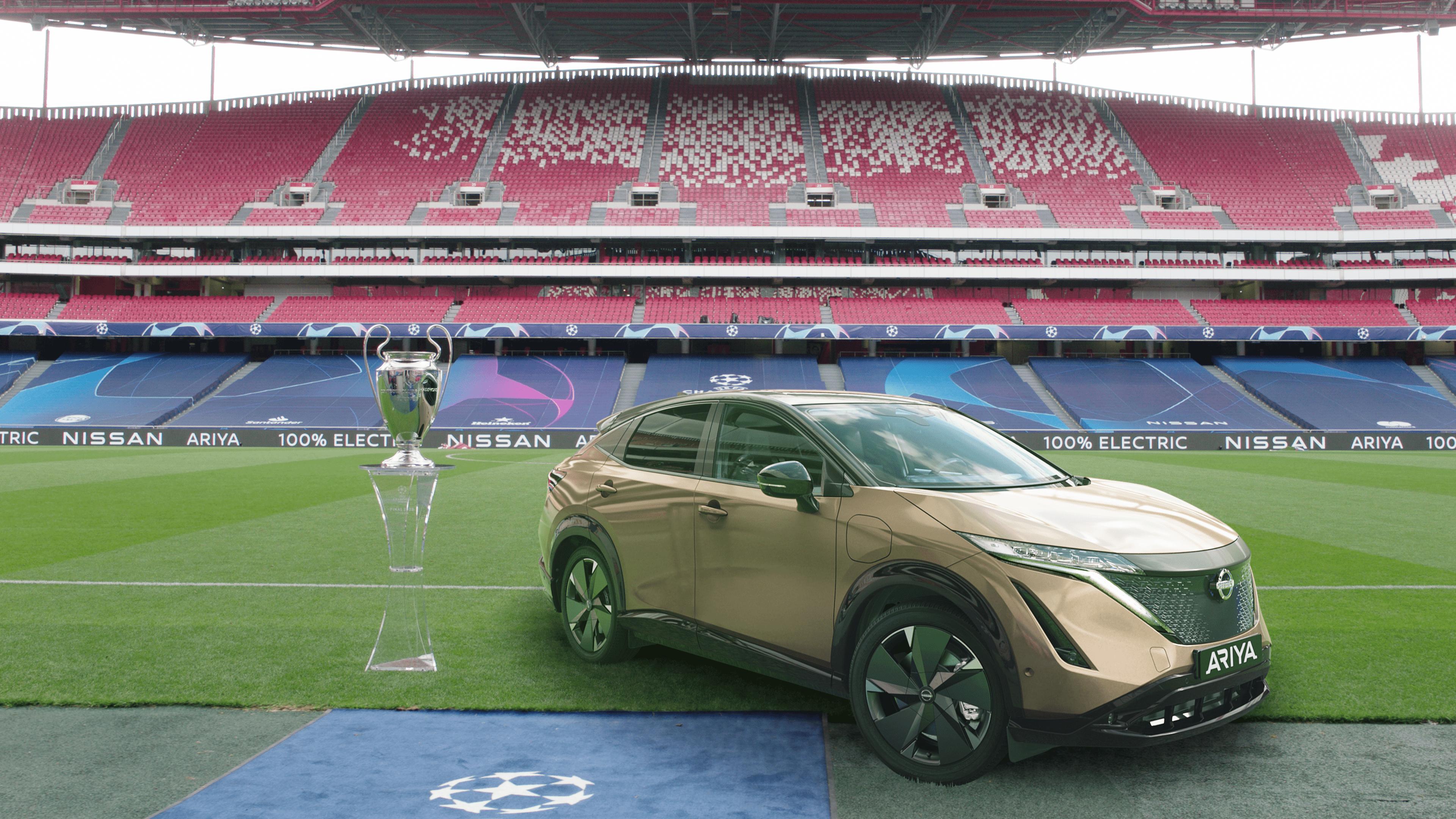 Afbeelding voor Nissan geeft Portugese LEAF-rijders onvergetelijke UEFA Champions League-finale