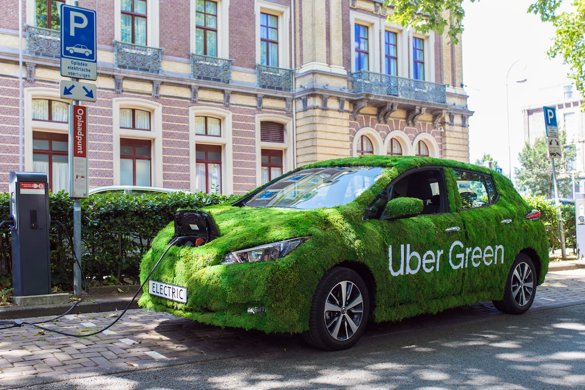 Afbeelding voor Nissan preferred supplier van Uber