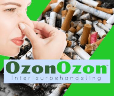 Ozon Behandeling!  Geen stank meer in uw interieur